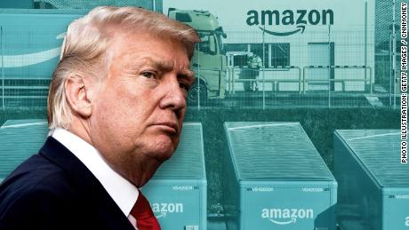 Trump on the attack against Amazon