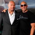 Dwayne Johnson Vin Diesel RESTRICTED