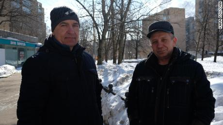 Moscow residents Sergey, 50 and Aleksandr, 58, say the World Cup is a chance for Russia to make amends after the doping scandal.