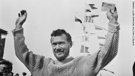 Robin Knox-Johnston: The first man to sail non-stop solo around the world