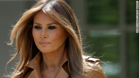 Melania Trump hasn't appeared in public for 20 days