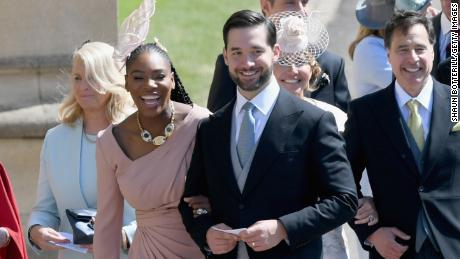 Serena Williams is a personal friend of Meghan's, and served up a smashing wedding look.