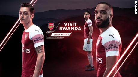 Arsenal signs shirt-sponsorship deal with Rwanda