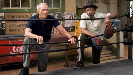 """Morgan Freeman won an Academy Award for Best Supporting Actor for """"Million Dollar Baby."""""""