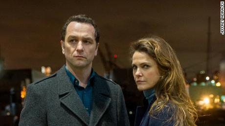"Keri Russell and Matthew Rhys in ""The Americans"""