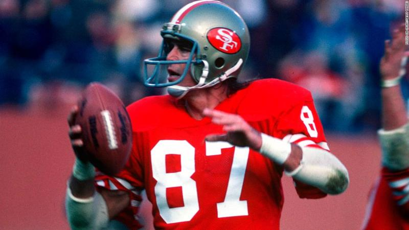 """Former San Francisco 49er <a href=""""https://www.cnn.com/2018/06/04/sport/dwight-clark-dies-als/index.html"""" target=""""_blank"""">Dwight Clark</a> died June 4 after a battle with amyotrophic lateral sclerosis, or ALS. He was 61. Clark was on the receiving end of one of the greatest plays in NFL history, forever known as """"The Catch."""""""