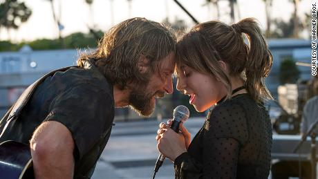 Bradley Cooper and Lady Gaga star in 'A Star is Born.'