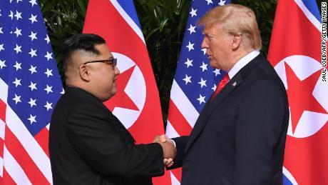 Trump says Pompeo won't go to North Korea, criticizes denuclearization progress