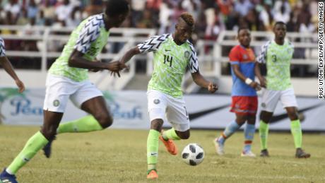 Nigeria v. Congo in May 2018