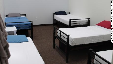 Five cot-like beds have been squeezed into bedrooms built originally for four at the shelter.