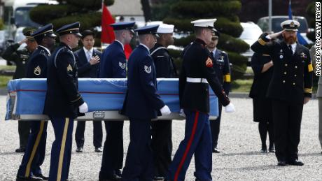 US preparing in DMZ for return of troop remains from North Korea