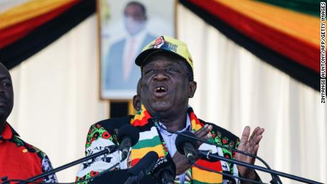 Zimbabwe's leader skipping World Economic Forum in Davos after violent protests