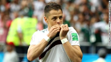 Javier Hernandez is Mexico's all-time top scorer with 50 international goals