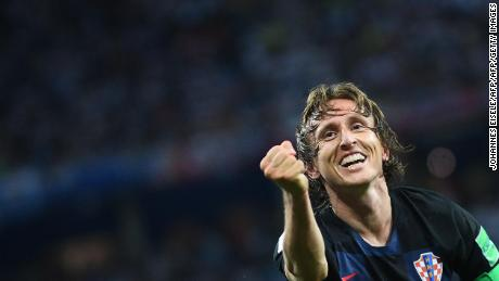 "Modric is ""from another planet"" says his teammate Rakitic"