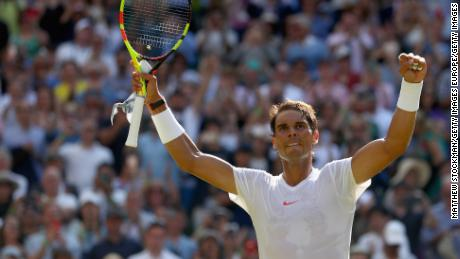 Rafael Nadal began his quest for a third Wimbledon title by beating Dudi Sela in three sets.