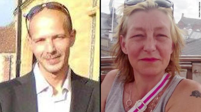 Images of Charles Rowley and Dawn Sturgess from their Facebook accounts.