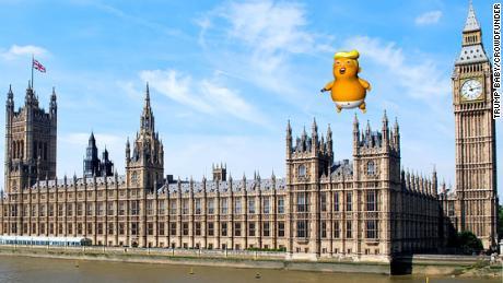 'Trump Baby' balloon gets green light from London mayor