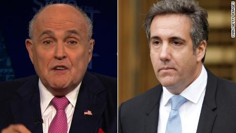 Rudy Giuliani: There is 'no contradiction' between Cohen and Trump responses to Mueller