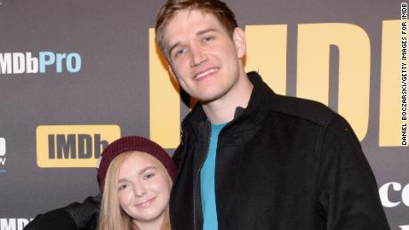 Actor Elsie Fisher and director Bo Burnham of 'Eighth Grade' attend The IMDb Studio and The IMDb Show on Location at The Sundance Film Festival on January 20, 2018 in Park City, Utah.