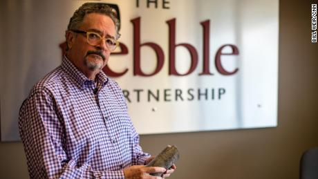 Tom Collier, photographed when he was CEO of the Pebble Partnership, has worked with Republicans and Democrats.