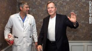 'High probability' doctor who treated former President George H.W. Bush was targeted, police say