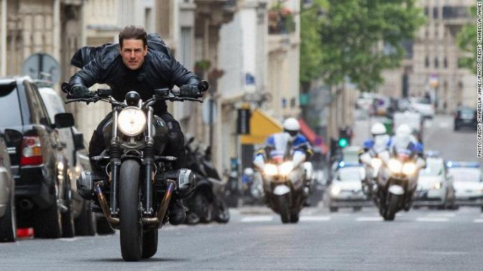 Tom Cruise reportedly scolds 'Mission: Impossible 7' crew members for violating social distancing measures