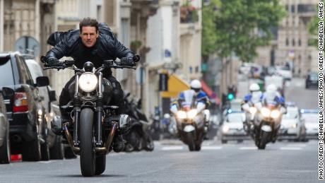 & Quot;  Mission: Impossible - Fallout & quot;  Tom Cruise in a scene from