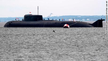 The Oryol nuclear-powered missile-carrying submarine will be the biggest vessel in this year's Russian Navy Day parade.