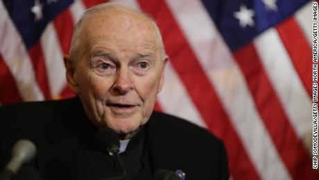 Theodore McCarrick resigned from his post in July.