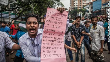 Bangladesh is exploring a new road safety law following days of protests.