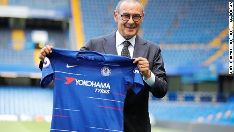 Former Napoli boss Maurizio Sarri was appointed Chelsea boss this summer.