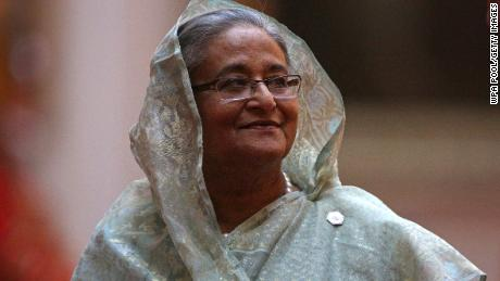 Sheikh Hasina has urged protesting students to go home.