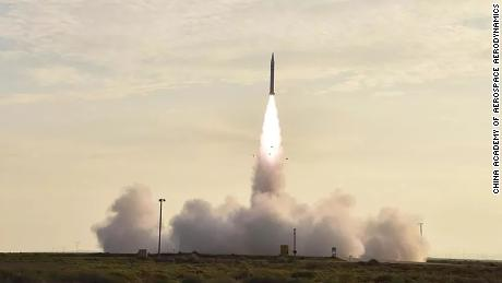 China claims to have successfully tested its first hypersonic aircraft