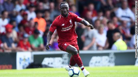 Keita has impressed in pre-season since his arrival from RB Leipzig.