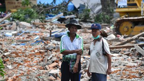 Workers now face a mammoth recovery, with houses and villages left destroyed.