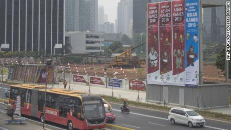 Indonesia is hosting the 2018 Asian Games, which start on Saturday.