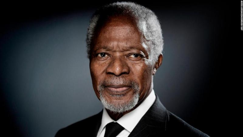 "<a href=""https://www.cnn.com/2018/08/18/africa/kofi-annan-obit-intl/index.html"" target=""_blank"">Kofi Annan</a>, the first black African to lead the United Nations, died August 18 at the age of 80. He served as the UN's Secretary-General from 1997 to 2006. His efforts to secure a more peaceful world brought him and the UN the Nobel Peace Prize in 2001."
