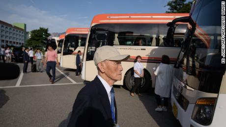 Dozens of elderly and frail South Koreans set off for North Korea on August 20 to meet relatives for the first time since they were separated nearly seven decades ago by a war that divided the peninsula and their families.