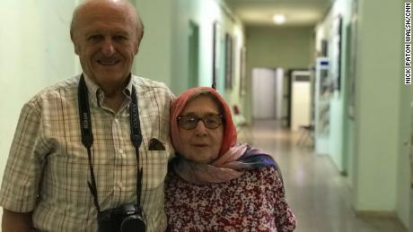 American tourists Jim and Gladys Strain first came to Iran for their honeymoon in the 1950s.