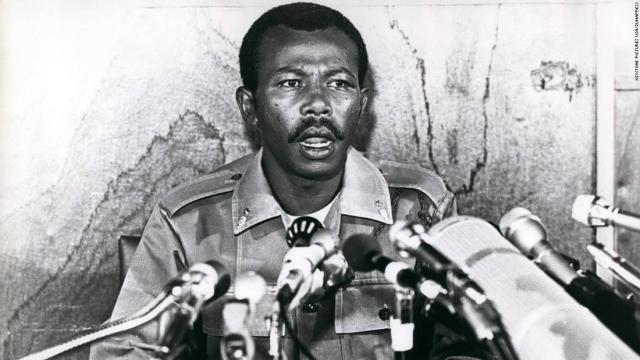 Mengistu Haile Mariam in 1980.