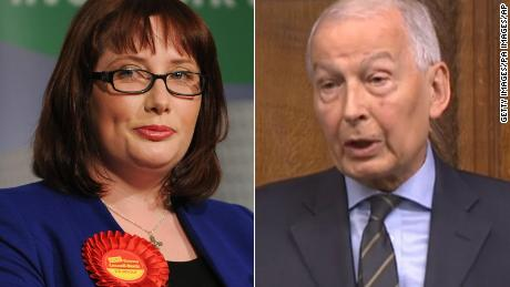 Emma Newell-Buck (L) and Frank Field (R) are urging the government to take action over 'holiday hunger.'