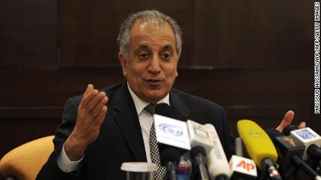 Zalmay Khalilzadin Kaboul en 2009.