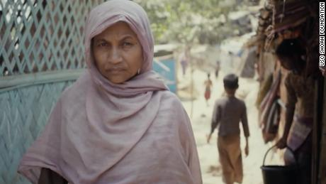 Morizan claims that the Myanmar military would harass her community with constant demands for money. If any of her children wanted to get married, the soldiers would demand large fines, she says.