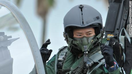 Misa Matsushima, 26, has become Japan's first female fighter pilot.