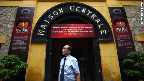 """Tran Trong Duyet, 85, the former director of the Hoa Lo Prison, otherwise known as the """"Hanoi Hilton,"""" where John McCain was held as a prisoner of war."""