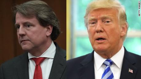 House panel issues subpoena to former White House counsel Don McGahn