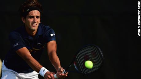 Pierre-Hugues Herbert of France says the umpire's intervention was inappropriate.