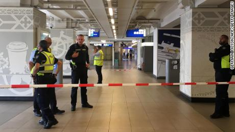 Amsterdam: Suspect shot at central train station after stabbings