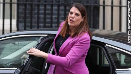 Immigration minister Caroline Nokes arrives at 10 Downing Street in January.