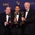 Sir Andrew Lloyd Webber, John Legend and Tim Price Emmy Win